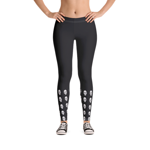 HALF SKULL LEGGINGS