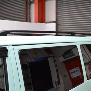 VW T4 Black Aluminium roof Rails