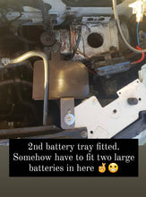 Vw t4 double battery tray