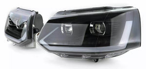 VW T5.1 drl headlights with sequential indicators