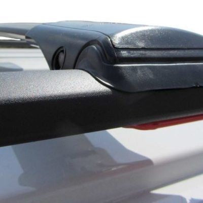 VW T4, T5, T5.1, T6 Black Aluminium Wing Bars