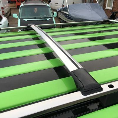 VW T4, T5, T5.1, T6 Aluminium Wing Bars