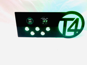 Halo 3/5 switch panel T4, T5, T6 – T4mation me