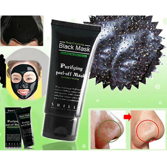 Remove Black head Purifying Peel-Off Blackhead Mask Deep Cleaning Acne Effective Comedo Remover Black Mask 0283 - Super Deal Hero