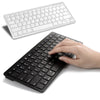 Ultra-slim Wireless Keyboard Bluetooth 3.0 for Apple iPad/iPhone Series/Mac Book/Samsung Phones/PC Computer  XXM - Super Deal Hero