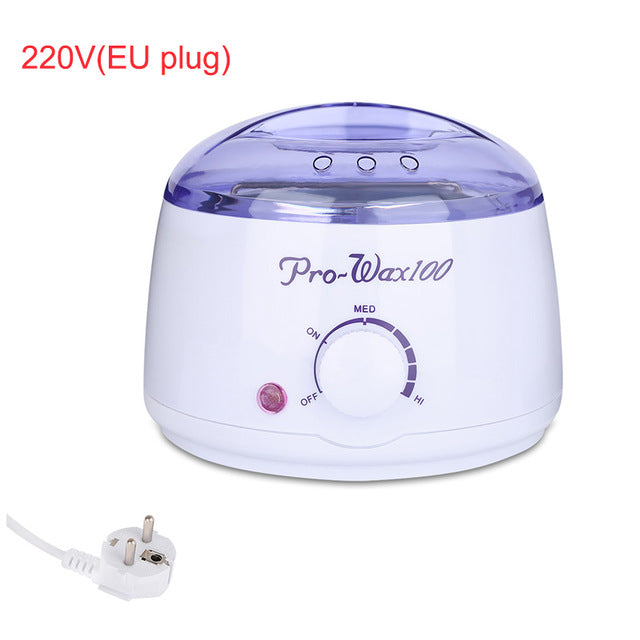 Professional Warmer Wax Heater Mini SPA Hand Epilator Feet Paraffin Wax Rechargeable Machine Body Depilatory Hair Removal Tool - Super Deal Hero