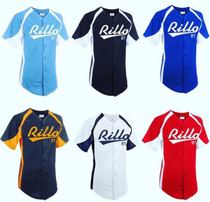 We Rock Rillo Baseball Jersey w/ White Original Design