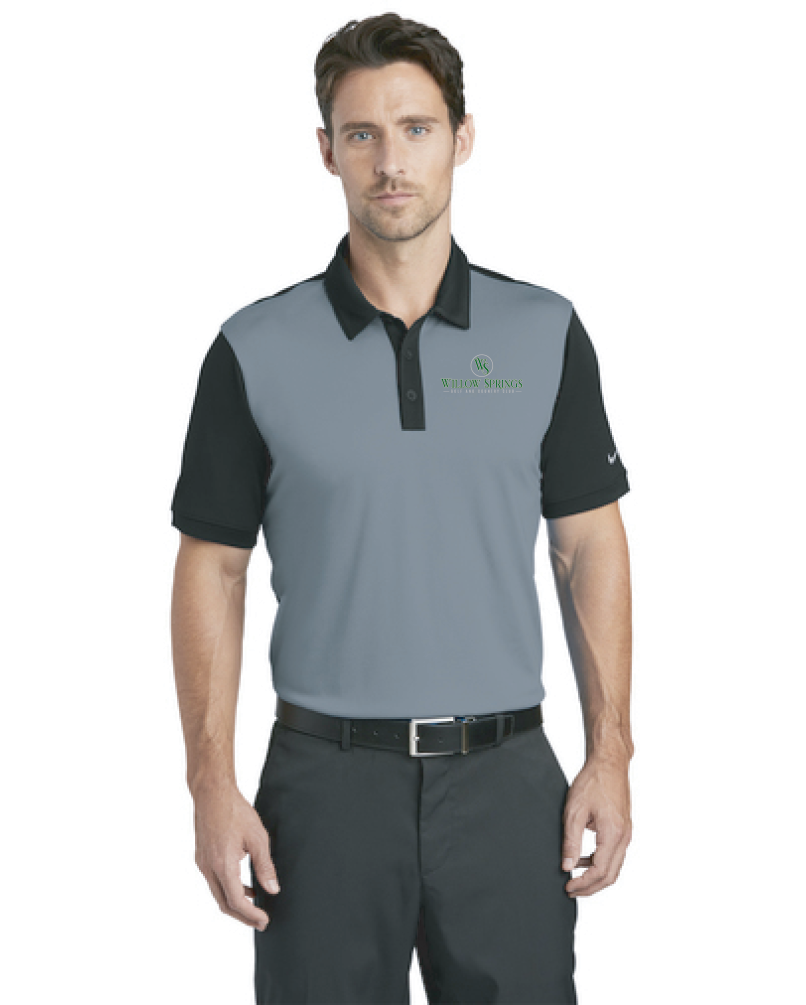 Willow Springs Nike Dri-FIT Colorblock Icon Modern Fit Polo (746101)