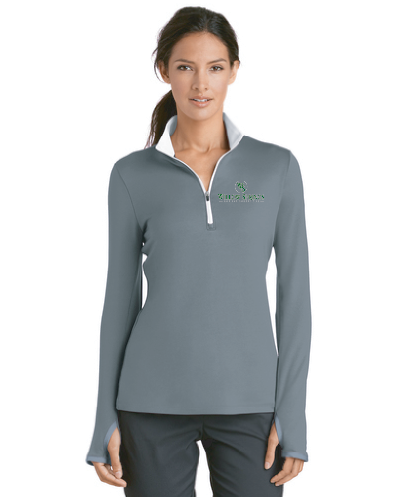 Willow Springs Nike Ladies Dri-FIT Stretch 1/2-Zip Cover-Up (779796)