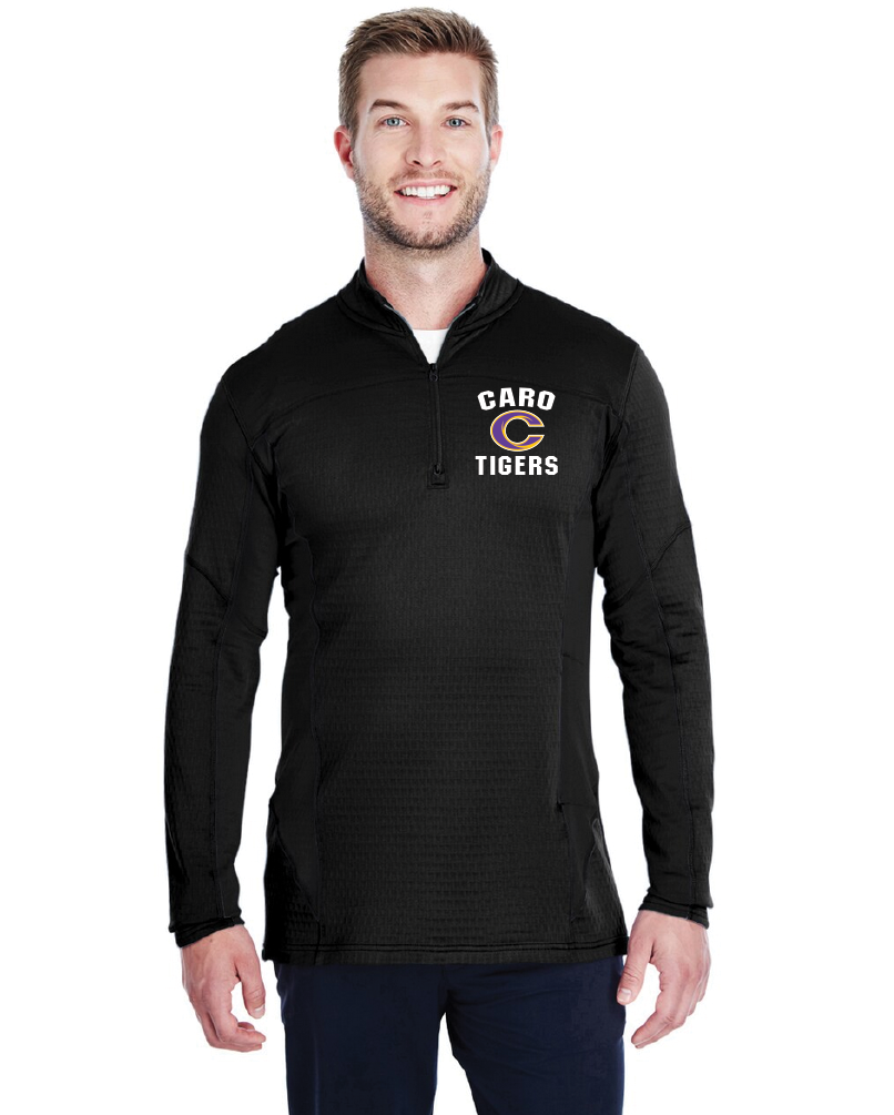 Tigers Embroidered Spectra 1/4 Zip Pullover