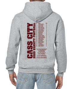 Cass City Back to Back Regionals Hoodie