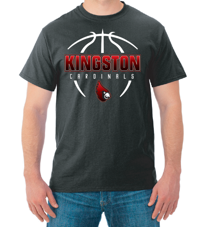 Kingston Cardinals Apparel Black T-Shirt