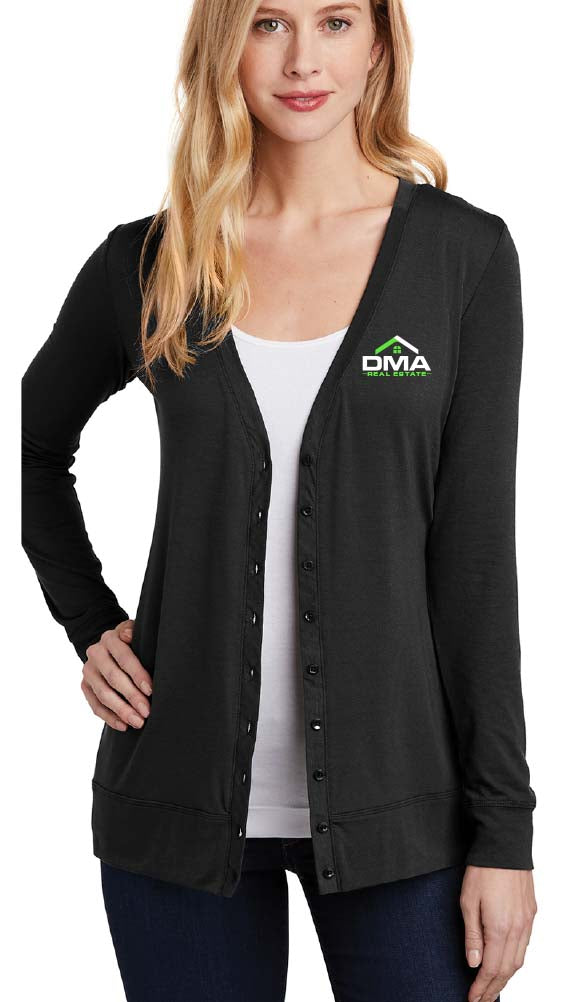 Ladies Concept Button Up Cardigan