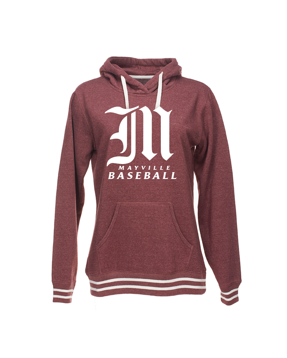 Maroon Womens Relay Hoody
