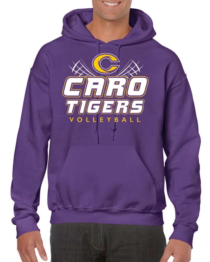 PREORDER: Caro Volleyball Hooded Sweatshirt