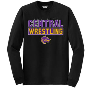 Central Wrestling Long Sleeve Shirt