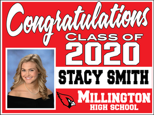 Millington Senior Lawn Sign