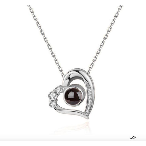 Custom Berillo Heart Necklace - Live Beryl