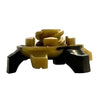 Cyclone Bulk Golf Cleats (Fast Twist®) | Gold/Black