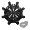 Softspikes Pulsar Bulk Golf Cleats (PINS) | Black/Silver