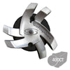 Silver Tornado Bulk Golf Cleats (Fast Twist® 3.0) | Silver/Black