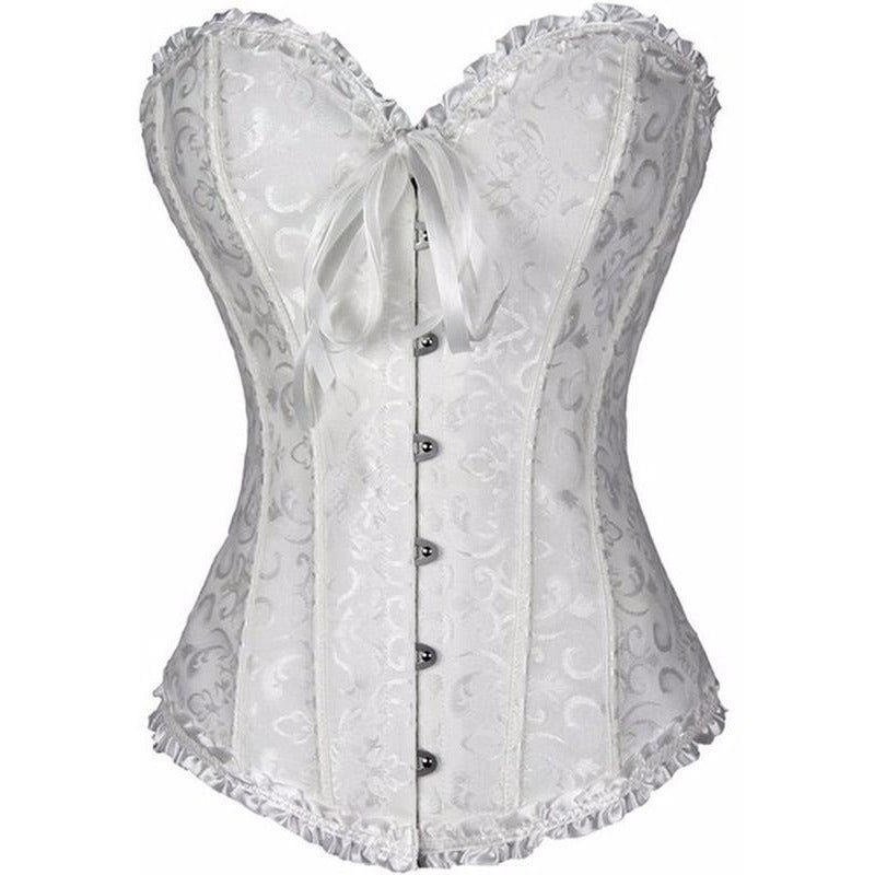 bb5feb1a4f ... Gothic Lace Embroidered Strapless Corset - Trendsology ...