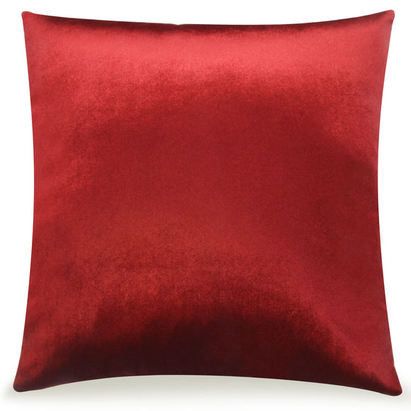 Pal Fabric Velvet Cushion Sham Throw Decroractive Sofa Pillow Cover 18x18 inches (WINE)