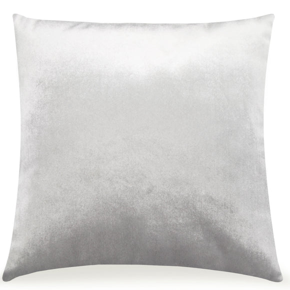 Pal Fabric Velvet Cushion Sham Throw Decroractive Sofa Pillow Cover 18x18 inches (SILVER)