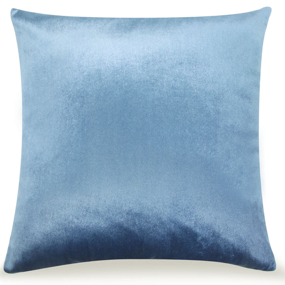 Pal Fabric Velvet Cushion Sham Throw Decroractive Sofa Pillow Cover 18x18 inches (LIGHT BLUE)