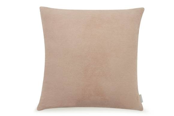 Pal Fabric Soft Solid Color Suede Cover 18x18 inches with Invisible Zipper