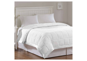 Pal Fabric 300TC Luxury Hotel Quality  White Goose Down Alternative  Blanket All season - KING SIZE