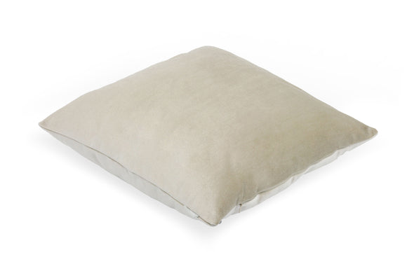 Pal Fabric Velvet Cushion Sham Throw Decroractive Sofa Pillow Cover 18x18 inches (IVORY)