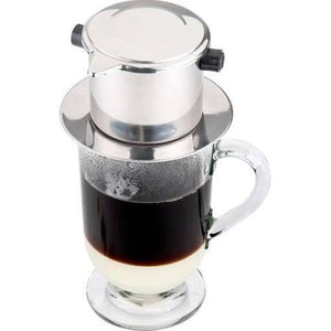 Vietnamese Coffee Filter Set, French Coffee, Slow-Drip, Espresso, Single Serving Stainless Steel