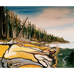"Galiano Sandstone 30""x40"" - SOLD"