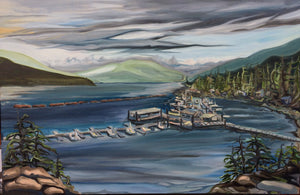 "Browns Bay, BC 24""x36"" - SOLD"