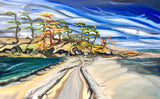"Dionisio Point Galiano, BC 30""x48"""