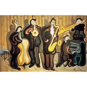 "Slow Jazz 18""x36"" - SOLD"