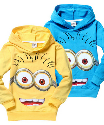 "Sweat à capuche ""Minions"""