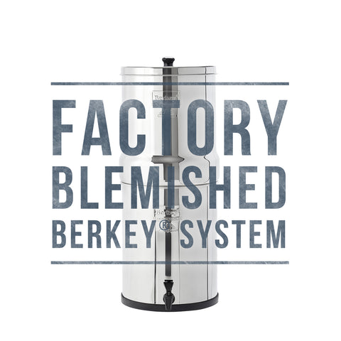 Blemished Big Berkey , scratch and dent Big Berkey