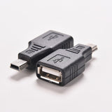 USB 2.0 Female To Micro / Mini USB Plug Adapters
