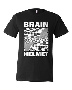 Brain Helmet Heather Black T-Shirt