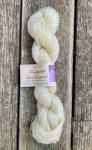 Lace White Wensleydale Yarn