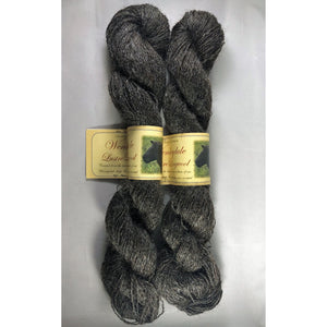 Grey Lace-weight Wensleydale Yarn