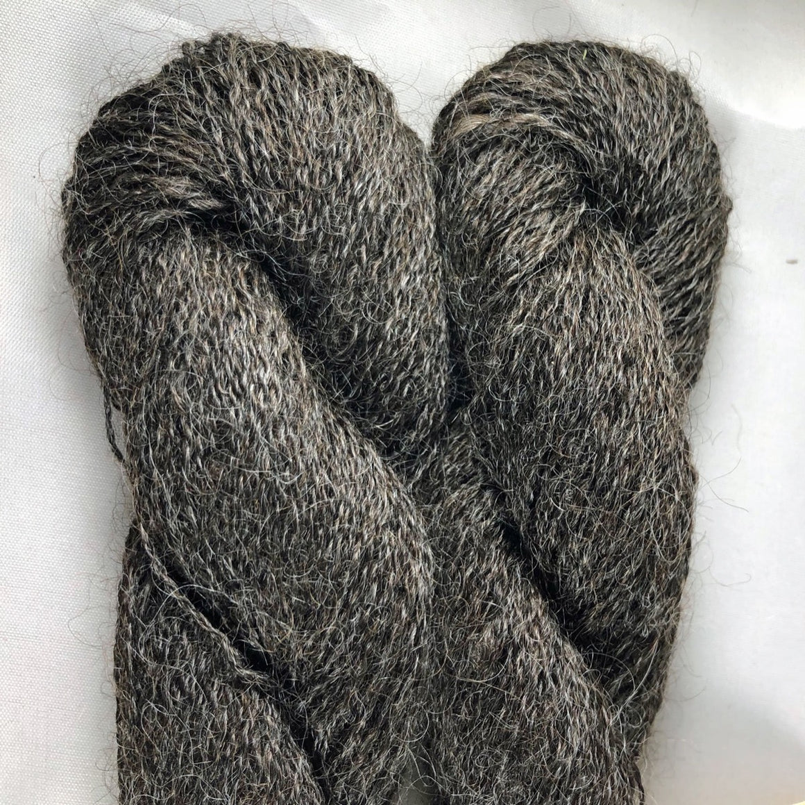 Lace Grey Wensleydale Yarn