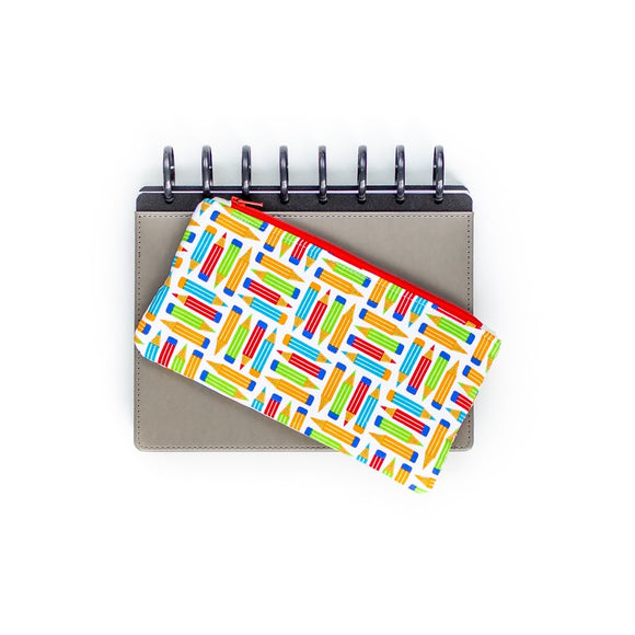 Pen Pouch - Colorful Pencils