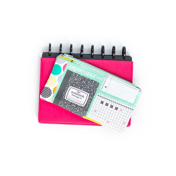 Deluxe Pen Pouch: Composition Notebook