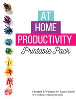 At Home Productivity Printable Pack