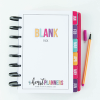 Design-Your-Own Blank Planner Pages