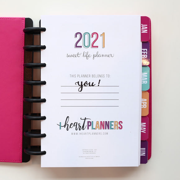 2021 Sweet Life Planner