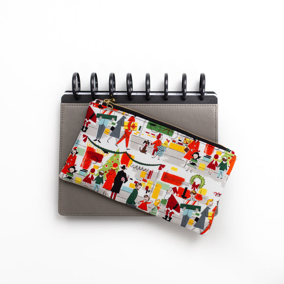 Deluxe Pen Pouch - Holiday Scene